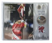 2012 £5 Coin Pack Celebration Of Britain Cornonets